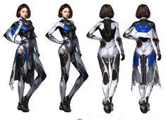 Cyberpunk Character, Cyberpunk Art, Female Character Concept, Character Art, Character Costumes, Character Outfits, Futuristic Armour, Female Armor, Science Fiction