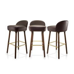 The Beetley Collection was inspired by the body shape of beetles, offering a pleasing contrast between the soft fabric and the lacquered steel frame. www.mondocollection.com - Beetley Bar Stool, Call for pricing (http://www.mondocollection.com/beetley-bar-stool/)