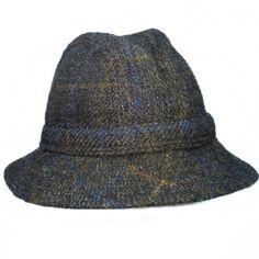 Hipsters - Jonathan Richard Liffey Flecked Tweed Walking Hat