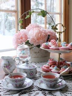 I'd love to go to a tea like this...
