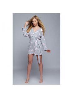 Халат женский хлопковый Isidora, Sensis Dresses, Fashion, Gowns, Moda, Fashion Styles, Dress, Vestidos, Fashion Illustrations, Gown