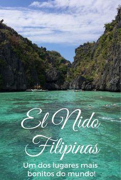El Nido nas Filipinas é sem dúvida um dos lugares mais bonitos do mundo.