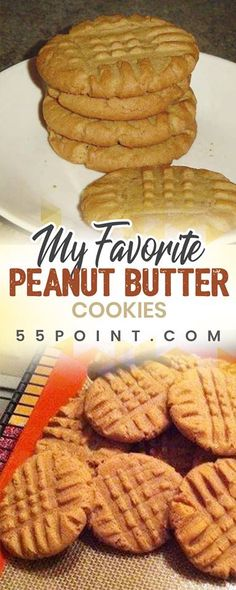 My Favorite Peanut Butter Cookies ♥ ONLY 1 POINT!