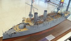 Cardenal Cisneros, Spanish armored cruiser built in Naval History, American War, Tall Ships, Model Ships, Model Building, Battleship, Wwi, Spanish, Fair Grounds