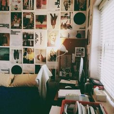 Indie Bedrooms - magazine page wall wow lovely Indie Room, Indie Bedroom Decor, Bedroom Inspo, Dream Rooms, Dream Bedroom, My New Room, My Room, Aesthetic Bedroom, Home And Deco