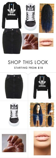 """""""Untitled #5"""" by nikelover-1 ❤ liked on Polyvore featuring Topshop, adidas and MDMflow"""