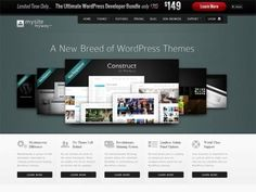 MySiteMyWay is another solid offering by a company who uses their own framework to produce a growing number of themes with a seemingly unlimited number of skins available. Home Themes, Browser Support, Online Coupons, Best Wordpress Themes, Coupon Codes, Web Design, Coding, Learning, Tips