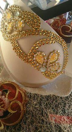 hermosa decoración para brasier de BellyDance
