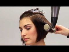 YouTube - How to get volume in your hair.  Good tip!!!