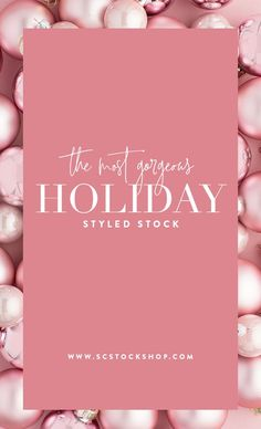 Move over red and green blush pink holiday stock images are in! Creative small business owners will love these stunning blush holiday marketing images from the SC Stockshop! Click through to view the entire collection! Valentine Poster, Seasonal Image, Email Design Inspiration, Holiday Images, Web Design, Promotional Design, Newsletter Design, Banner Design, Blush Pink