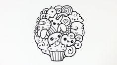 Lidi prostě kreslí roztomilé zvířátka, koblihy, cupcakes, duhy a nevím co všechno. Upřímně nechápu co na tom všichni tak vidí. Doodle art je výtvor vašeho ...