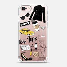 New York fashion girl - Snap Case