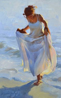 Albin Veselka is a figurative oil painting artist from Idaho. He is interested in painting children and women in an expressive way. Painting People, Figure Painting, Illustration Art Dessin, Fine Art, Beach Art, Beautiful Paintings, Art Techniques, Figurative Art, Painting Inspiration