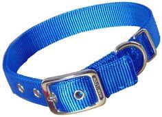 #Hamilton Thick BlueNylon Deluxe Dog #Collar