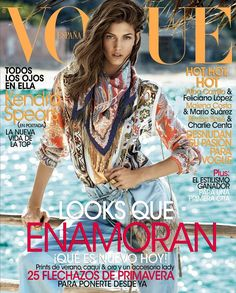 COVER Kendra Spears | Vogue España febrero 2014 (Photography: Giampaolo Sgura)