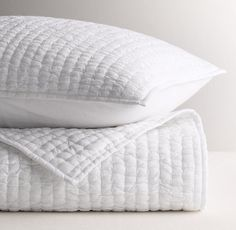 Solid White Kantha Quilt, Cotton Kantha Quilt, Handmade Quilt, Natural White Kantha Blanket Throw, Q