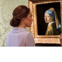 Kate Middleton is the 'girl with a pearl earring': Every photo from the Netherlands - HELLO! US