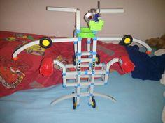 Mijn zelf gemaakte robot