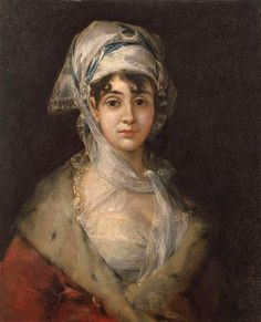 Francisco José de Goya y Lucientes (Spanish painter, 1746–1828) . Portrait of Antonia Zárate. c. 1811