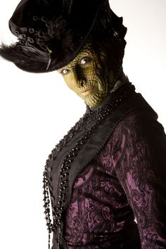 Madame Vastra!! Absolutely undoubtably one of my favourite characters in Doctor Who (With Jenny and Strax) these fabulous three, just make my life every time they come on screen :)