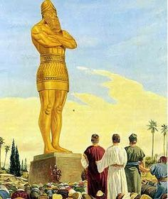 Golden image of Nebuchadnezzar represented his empire and the image is a sneak preview of Antichrist's image in the Book of Revelation. He commanded people to..