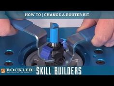 How to Change a Router Bit   Rockler Skill Builders - YouTube