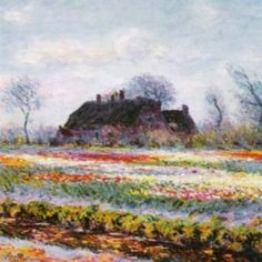 """Tulip Fields at Sassenheim"" by Claude Monet"