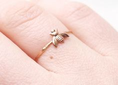 Bee ring / bague abeille