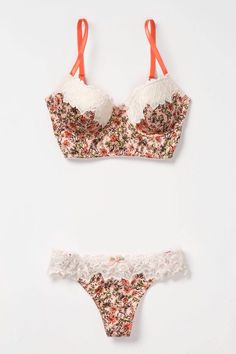 Lingerie of blooms