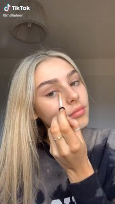 Edgy Makeup, Cute Makeup, Pretty Makeup, Kiss Makeup, Makeup Art, Hair Makeup, Simple Makeup Looks, Natural Makeup Looks, Make Up Looks