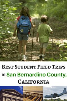 Check out this list of 40 School Feld Trips in San Bernardino County, Calfornia. From farm tours to art museums to nature hikes, there are fun field trips for all ages and interest levels. San Bernardino California, San Bernardino County, San Bernardino Mountains, Riverside County, Outdoor Education, Community Events, School Fun, Day Trips, Trip Planning