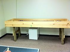 Charming Youth Story: How To Build A Carpetball Table Part 2 (Carpet Ball)