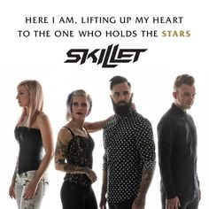 US Christian rock band Skillet will play Rock For People Festival 2018 Christian Rock Music, Christian Metal, Christian Songs, Christian Artist, Christian Faith, Christian Quotes, Skillet Quotes, Skillet Lyrics, Music Quotes
