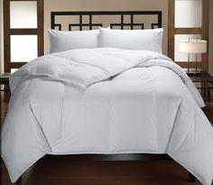 Down Alternative White Comforter| Home Goods Galore