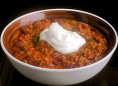 The Cultural Dish: Sweet and Spicy Chili