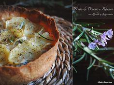 Tartaletas de patata y romero con ricotta y gorgonzola