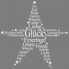 Stempel, Stern - Liebe - Glück - Glanz - Feiertage - Licht, etc.., 7x7 cm