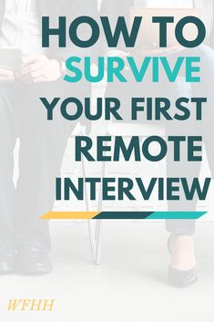 You got the callback. Now it's time to nail your interview -- best practices for successfully making it through your first remote interview.