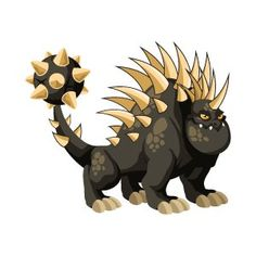 How to Breed Hedgehog Dragon in Dragon City - Dragon City Guide Anubis, City Drawing, Kawaii Drawings, Imagine Dragons, Bowser, Dragon Ball, Hedgehog, Pokemon, Gaming