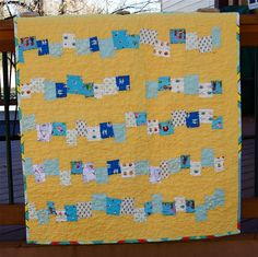 cornflower quilt | by a quilt is nice
