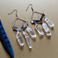 Crystalline Queen  raw clear quartz point  by WildcraftJewels, $17.00
