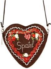 "Herzltasche Edel ""Spatzl""  rot (ROSI BAVARIA) The 'sweetheart' purse from Peter..."