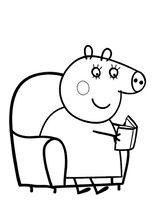 Les 43 meilleures images du tableau coloring pagespeppa pig sur cest trs rigolo comme dessin anim petits comme grands regardent la maxwellsz