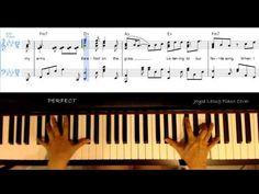 Ed Sheeran - Perfect - Piano Cover & Free sheets (lyrics on-screen) - YouTube