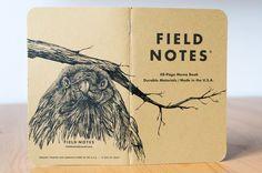 DIN A6 - Notizbuch #119 Field Notes Unikat - ein Designerstück von pixelgraphix bei DaWanda