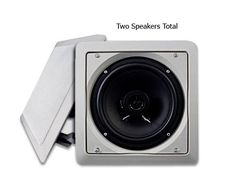 """Acoustic Audio LC265i-2PKG (2) 250 Watt 6.5"""" In-Wall/Ceiling Speakers by Acoustic. Save 83 Off!. $42.99. These speakers are the perfect investment because they can be used in a variety of applications, from surround sound home theaters to marine boat audio systems. Designed exclusively to mount seamlessly into any ceiling or wall, these space-savers have a mounting depth of only 2.75 inches. Their paintable, white grills mean you can easily match any boat, home or outdoor decor. Aesthet..."""