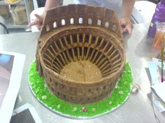 colosseum gingerbread replica