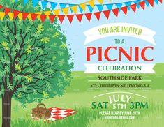 picnic invitation templates