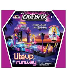 Lite Brix Lite Up Runway from Cra-Z-Art   See more best ideas about Toy