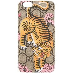 Gucci Bengal iPhone 6 case (€155) ❤ liked on Polyvore featuring accessories, tech accessories and gucci